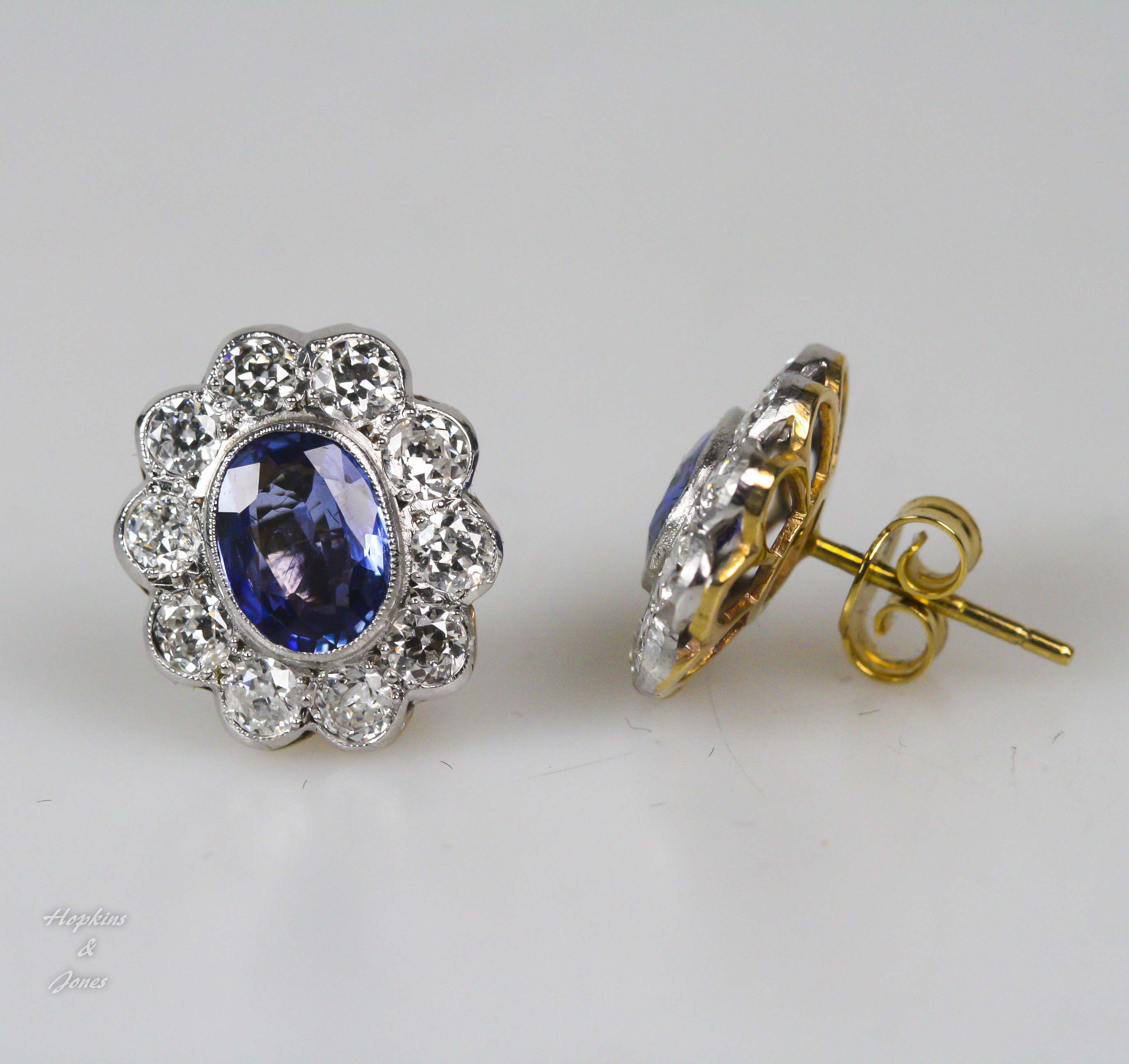 stud jewelers cluster products barmakian earrings diamond