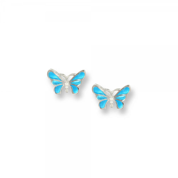 Double butterfly studs